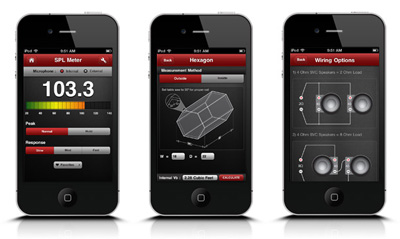 iPhone Application for Rockford fosgate